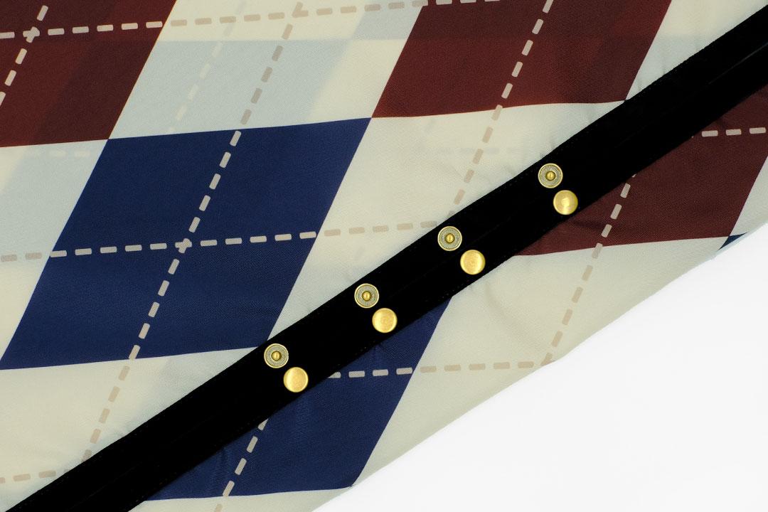 dada cloth Argyle / ダダクロス アーガイルのドットボタン