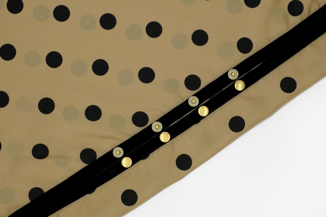dada cloth Dot / ダダクロス ドットのドットボタン