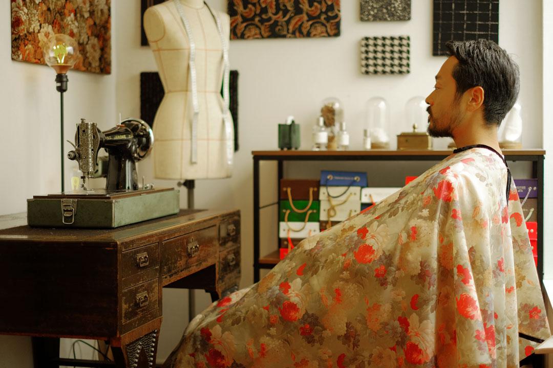 dada cloth Flower / ダダクロス フラワーの着用イメージ