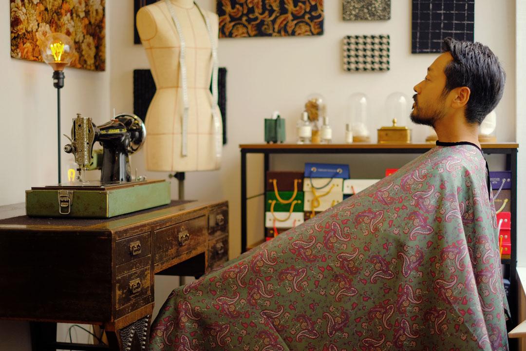 dada cloth Paisley / ダダクロス ペイズリーの着用イメージ
