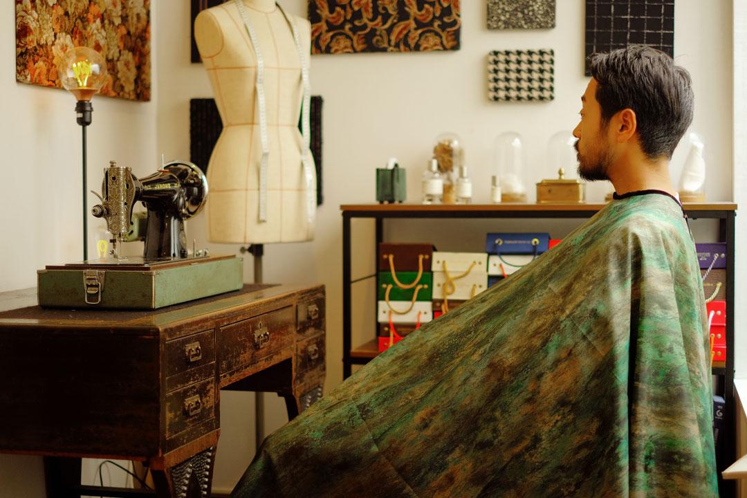 dada cloth Vintage art / ダダクロス ヴィンテージアートの着用イメージ